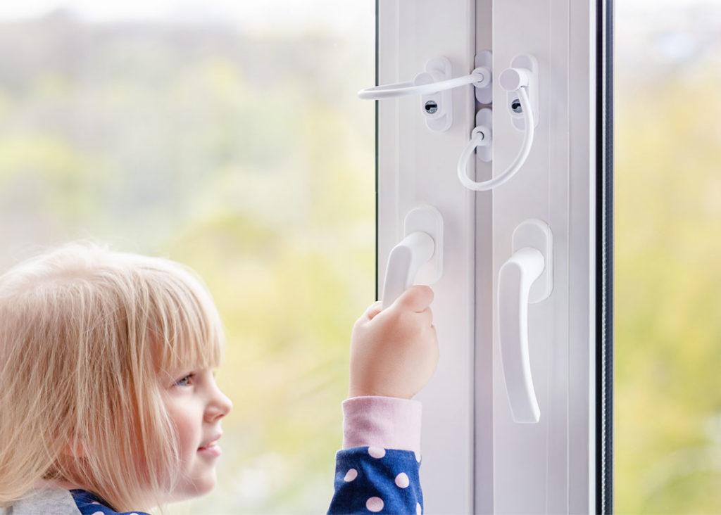 Fenstersicherheit Sicherung Fenster